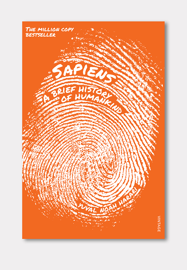 side project #2 - sapiens book cover designs - gil creative