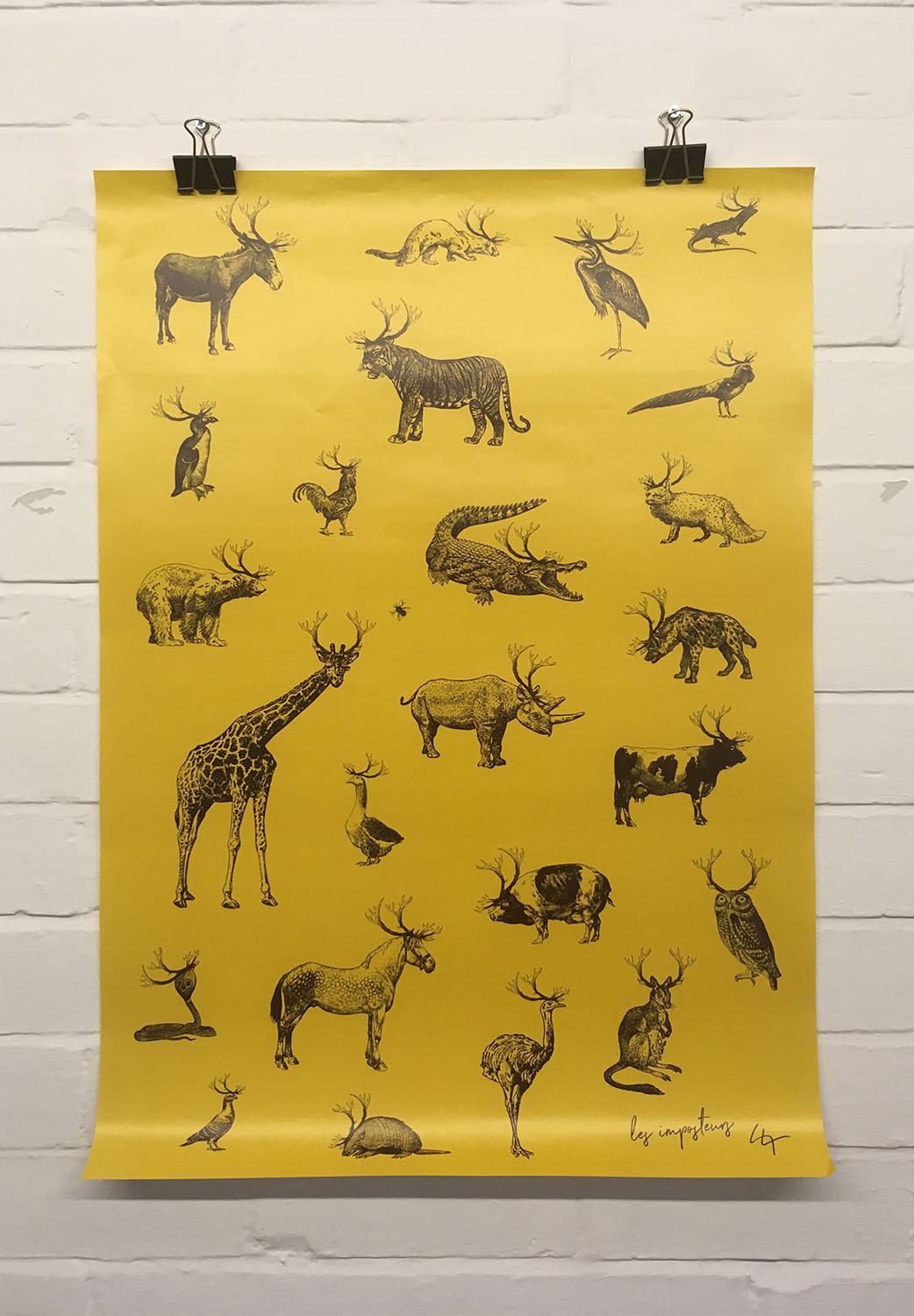 Les Imposteurs Wrapping Paper